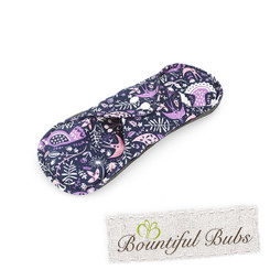 Reusable Cloth Pad - Absorbent Charcoal Bamboo - Small