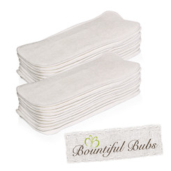 3 Layer Microfibre Nappy Insert pack of 20