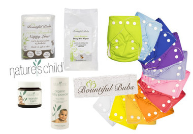 Nature's Child, Bountiful Bubs Combo Nappy Pack