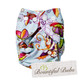 Butterflies - Newborn Printed Nappy