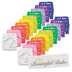 Bamboo Cloth Nappy - 20 Pack
