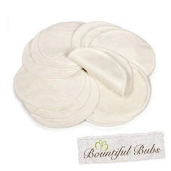 Bamboo Breast Pads - Waterproof - 4 Layers, Bountiful Bubs