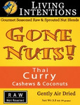 Gone Nuts! Thai Curry Cashews & Coconuts (12x3 Oz)