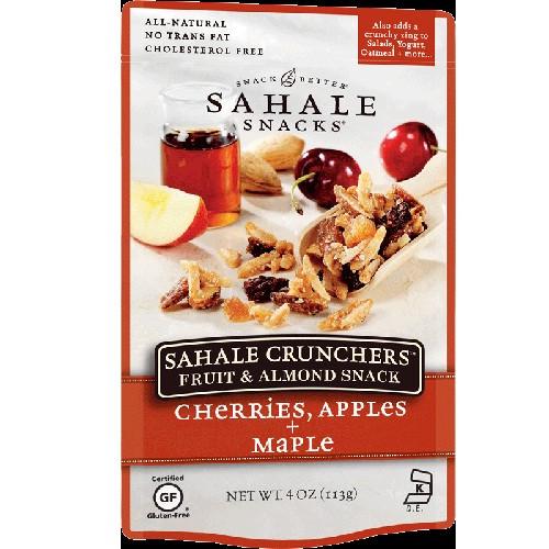 Sahale Snacks Crunchers Cherries, Apple + Maple (6x4 Oz)