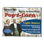 Newman's Own Organics Microwave Light Butter Pop's Corn (12x3x2.8 Oz)