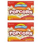 Golden Fluff Popcorn Microwave (12x9OZ )