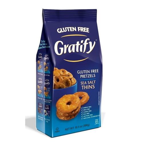 Gratify Pretzel Thins GF (6x10.5OZ )