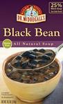 Dr. McDougall's Black Bean, Lower Sodium (6x18 Oz)