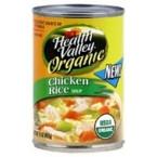 Health Valley Chicken Rice Soup (12x15 Oz)