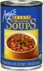 Amy's Kitchen Hearty French Country vegetable Soup (12x14.4 Oz)