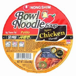 Nong Shim Spicy Chicken Noodle Soup Bowl (12x3.03Oz)