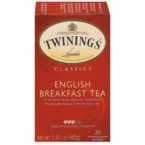 Twinings English Breakfast Tea (3x20 Bag)