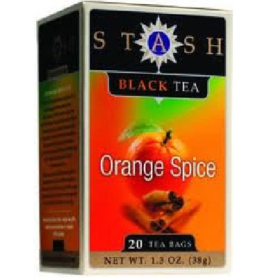 Stash Tea Orange Spc Black Tea (6x20BAG )