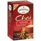 Twinings Ultra Spice Chai (6x20 CT)