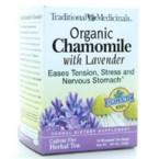 Traditional Medicinals 100% Chamomile Tea w/Lavender (3x16 Bag)