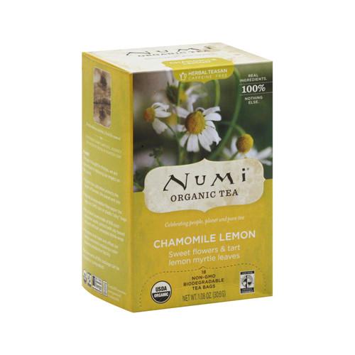 Numi Tea Chamomile Lemon Herbal Tea (1x18 Bag)