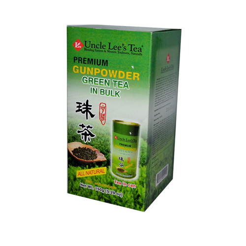 Uncle Lee's Premium Gunpowder Green Tea in Bulk 5.29 Oz