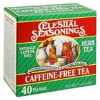 Celestial Seasonings Caffeine-Free Herb Tea (3x40 Bag)