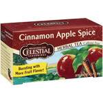 Celestial Seasonings Cinnamon Apple Spice Herb Tea (6x20bag)