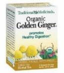 Traditional Medicinals Golden Ginger Tea (6x16 Bag)