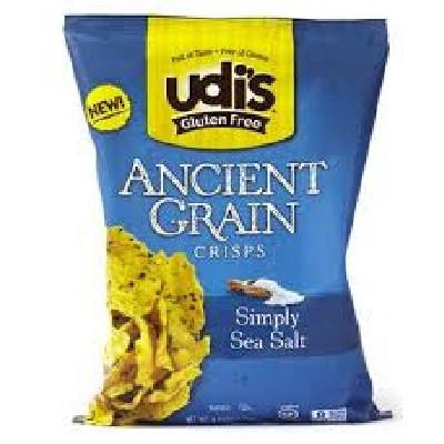 Udi's Gluten Free Crisps Sea Salt (12x4.93OZ )