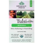 Organic India Tulsi Tea Organic Moringa (6x18 Tea Bags)