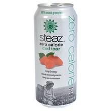 Steaz ZERO Calorie Raspberry (12x16 Oz)