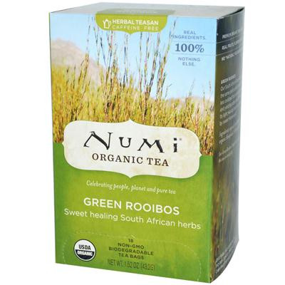 Numi Tea Green Rooibos Herbal Tea (3x18 Bag)