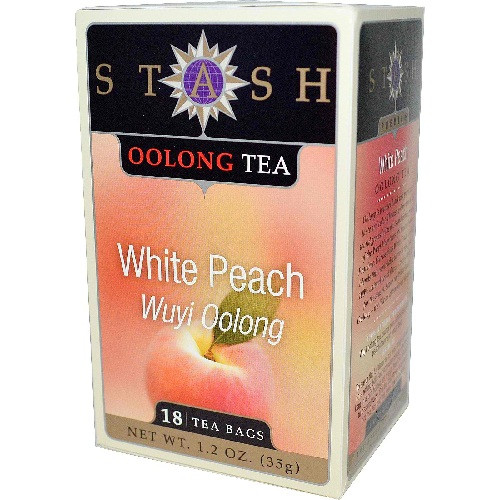 Stash Tea Oolong White Peach Wuy Tea (3x18 ct)