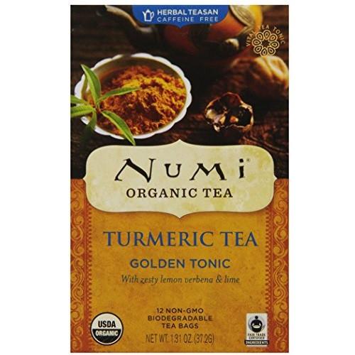 Numi Tea Gldn Tonic,Lemon Verbena,Lime (6x12 BAG)