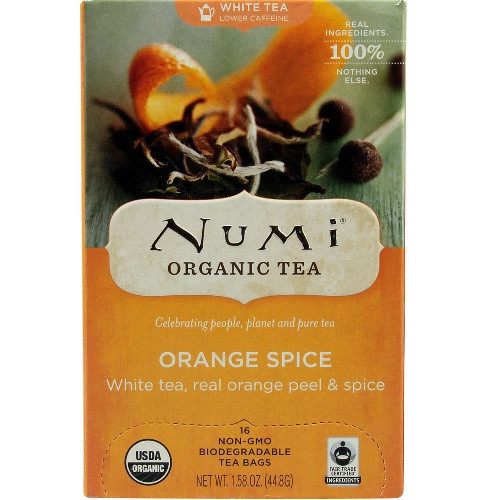 Numi Tea Orange Spice White Tea (3x16 Bag)