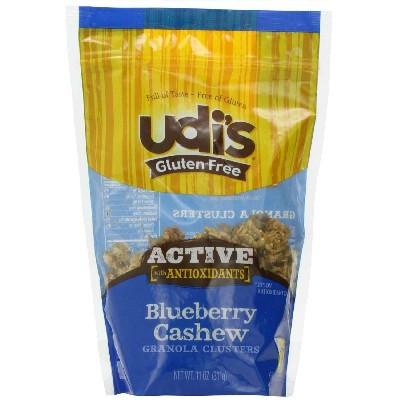 Udi's Gluten Free Active BluBerry Cshw Granola (6x11OZ )