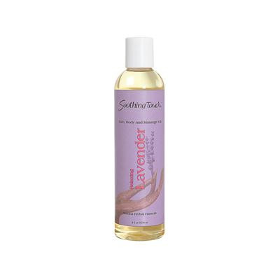 Soothing Touch Massage Oil Lavender (1x8 Oz)