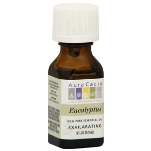 Aura Cacia Essence Oil Eucalyptus (3x0.5OZ )