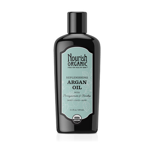 Nourish Organic Argan Oil Replenishing Multi Purpose 3.4 Oz