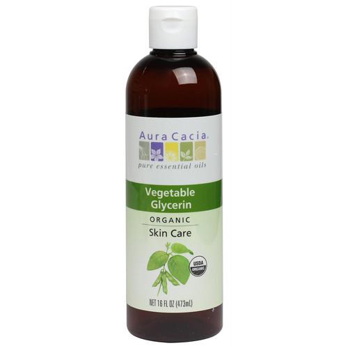 Aura Cacia Skin Care Oil Organic Vegetable Glycerin Oil (16 fl Oz)