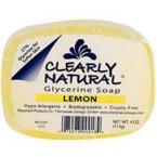Clearly Naturals Lemon Soap (1x4 Oz)