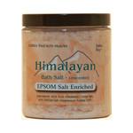 Himalayan Salt Bath Salt 40% Epsom Salt Enriched 24 Oz
