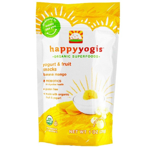 Happy Baby Banana Mango Yogurt Melts (8x1 Oz)