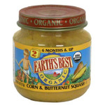 Earth's Best Baby Foods Baby Crn/Bnt Sqsh (12x4OZ )