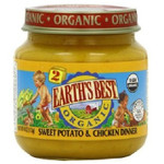 Earth's Best Baby Foods Baby Sweet Pot/Chicken (12x4OZ )