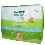 Seventh Generation F&C Baby Wipe Refil (3x256 CT)