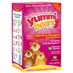Hero Nutritionals Yummi Bear Omega 3-6-9 (1x90 count)