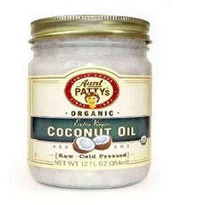 Aunt Patty's Organic Extra Virgin Coconut Oil (6x6/12 Oz)