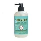 Meyers Basil Liquid Hand Soap (6x12.5 Oz)