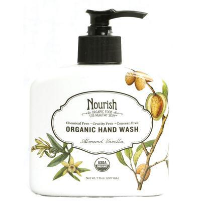 Nourish Organic Almond Vanilla Hand Wash (1x7 Oz)