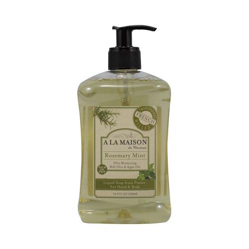 A La Maison French Liquid Soap Rosemary Mint (16.9 fl Oz)