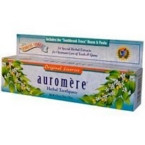 Auromere Licorice Herbal Toothpaste (12x4.16 Oz)