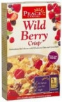 Peace Cereals Wildberry Crisp Cereal (12x10 Oz)