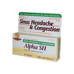 Boericke and Tafel Alpha SH Sinus Headache (1x40 Tablets)
